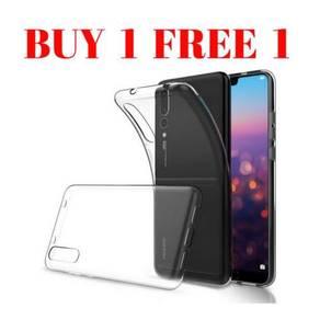 Huawei p20 pro silicone casing Buy 1 Free 1