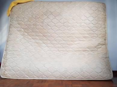 Free King Size mattress/ tilam king size percuma