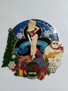 Hard Rock Hotel Las Vegas 1999 Xmas puzzle pins