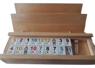 New rummikub board family logical game