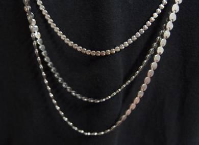 Retro Metal Necklace - 1980s