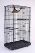 New Steel Cat Cage R64