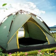 Spring loaded automatic camping tent 2-3 people