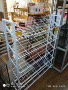 Netting Shoes Stand 5 Level ( Wh )