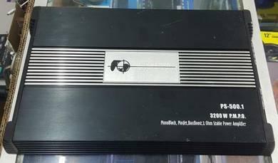 Monoblock amp 500.1