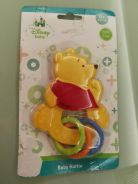 Disney Winnie The Pooh Baby Rattle