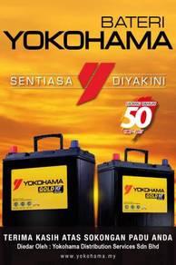 Yokohama Car battery bateri