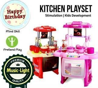 Kidz Kitchen Toy Playset (99)