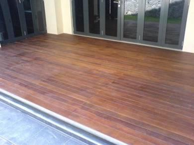 Kontraktor timber decking