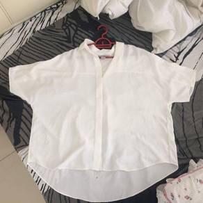 H&M; white top