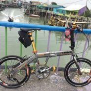 Folding bike Basikal Lipat Upgraded