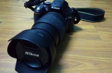 Nikon D5200 + Nikon (Nikkor) AF Lens 18mm To 105mm