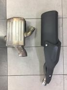 Versys 1000 & Z 800 stock exhaust muffler