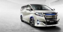 Toyota alphard 2015 normal body kit PP MATERIAL