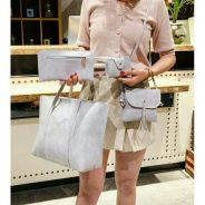 ( 4 IN 1 ) PU Handbag Set