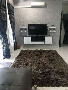 Karpet shaggy(maroon)