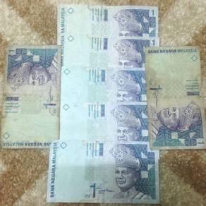 Duit lama RM1 (7pieces)