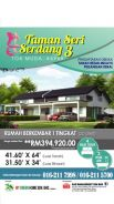 [0% Downpayment][Full Loan][No GST] Single Storey SEMI-D Terrace House