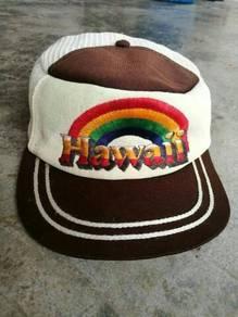 Vintage cap Hawaii rainbow