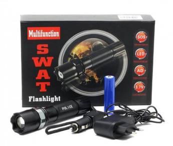 LED Adjustable Zoom Flashlight S