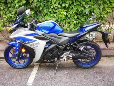 Yamaha r25 low milage harga murah