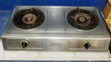 Gas Stove - Dapur Gas 2 Tunku