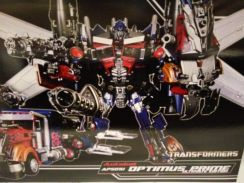 100% New Takara Transformers APS-01U Optimus Prime