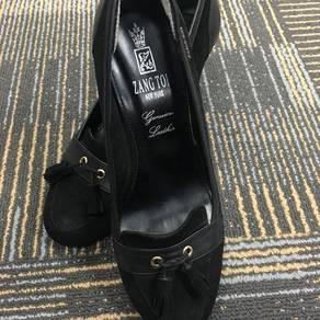 Zang Toi Black Shoe