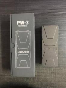 Boss wah pedal pw3