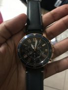 Original Fossil Men Grant sport Blue Dial Chrono