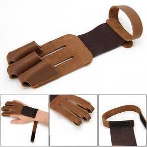 ARCHERY ACCESSORY (Three finger Glove)
