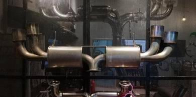 GReddy Full Titanium Exhaust System Nissan GTR R35