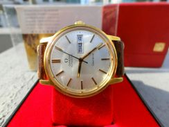 (Super Rare)Vintage Omega geneve gold-plated 35mm