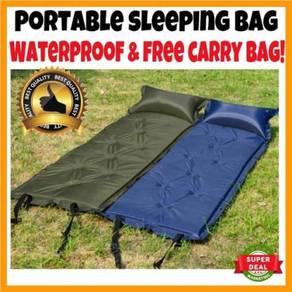 Inflatable Sleeping Bag Camping Air Bag Hiking Sle