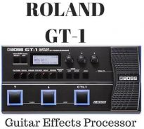Roland GT-1 gt1 Guitar Effects Processor