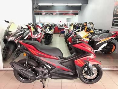 YAMAHA NVX 155 (ready stock) promotion mega sales