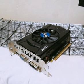 MSI GeForce GTX 750 Gddr5 1GB Graphic Card (Used)