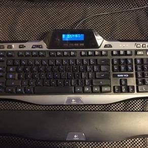 Logitech G510 Gaming Keyboard LCD