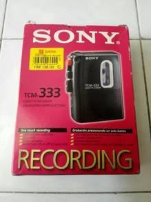 SONY walkman recording