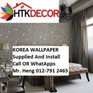 Pretty Wall covering with Installation 7ZB5