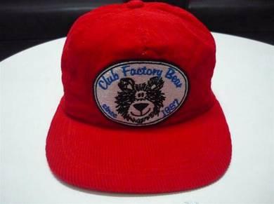 Topi Club Factory Bear Corduroy Cap