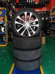 Rim 18 inch Toyota Estima Complete Tyre