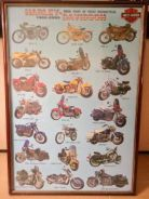 Poster harley davidson 100 years classic