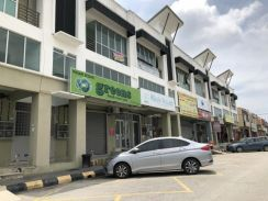 2sty Shop ijok pekan simpang tiga facing mainroad