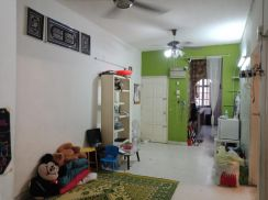 GROUND FLOOR Unit Mahsuri Apartment Setiawangsa KL 4 Bilik FREEHOLD