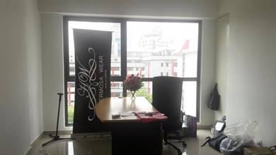 Bandar Sunway Geo Office w 2 Air Cons, tiles, fridge, blinds, lighting