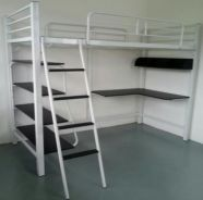 All In One Space Saving Steel Bed Frame