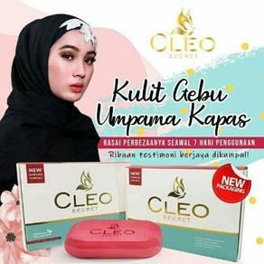 Sabun cleo new packing