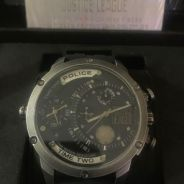 Justice League Limited Police Watch