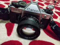 Canon AE-1 Program Vintage Film Camera